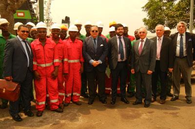 Vicente Boluda visite la Côte d'Ivoire pour renforcer les liens commerciaux