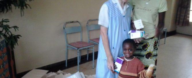 Donación de medicinas