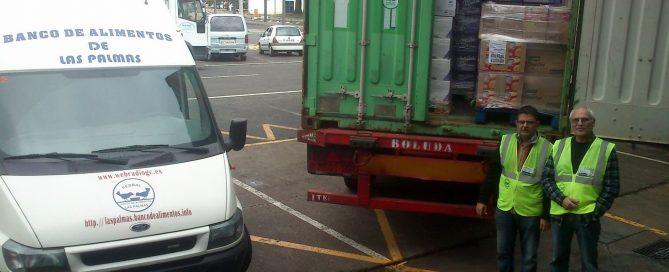Camión para el banco de alimentos