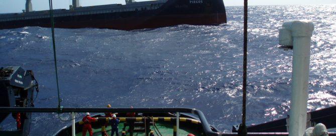 VB Artico rescata Pirgos