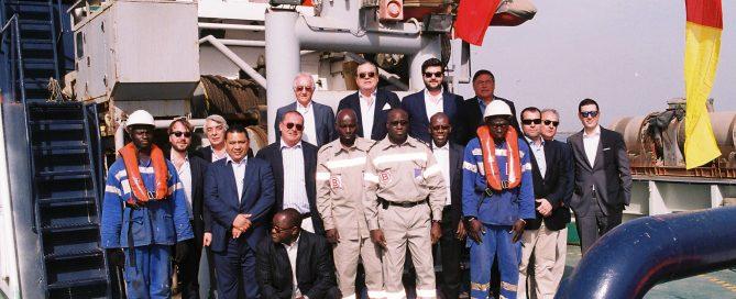 Viaje de Vicente Boluda a Senegal