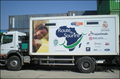 Camión solidario