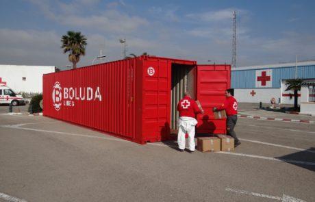 Contenedores Cruz Roja