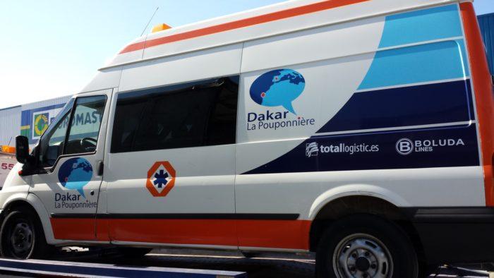 Ambulancia Dakar
