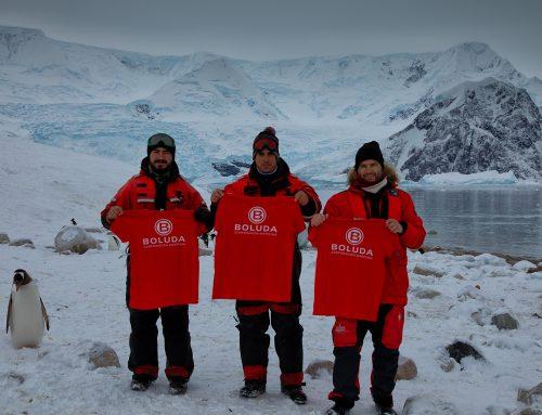 Boluda Corporación Marítima logo reaches Antarctica