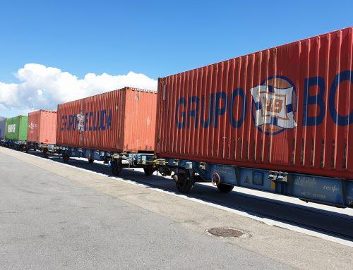 Boluda Maritime Terminals promueve por vez primera las operativas ferroviarias en su plataforma del muelle de Ferrazo en el puerto de Vilagarcía