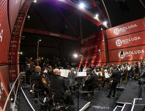 Audience of over 3,200 attend Philharmonic Orchestra of Gran Canaria concert sponsored by Boluda Corporación Marítima at Las Palmas Terminal