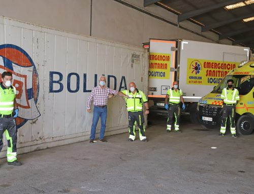 Boluda Lines provides reefer container for Lanzarote Emergency Services to preserve perishable food