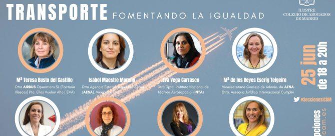 Pepa Cermeño, jornada Mujeres líderes en el transporte