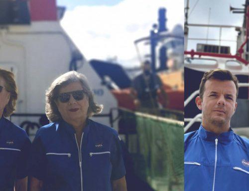 Boluda Towage colabora en el rodaje de una película sobre la vida de un diseñador canario que trabajó con Valentino