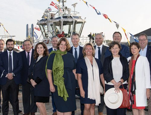 Boluda Towage takes part in naming ceremony of four new tugs operating in Belgian port of Zeebrugge