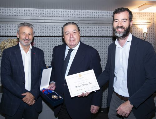 Vicente Boluda Fos receives the Grand Cross of ANARE of Towing and Maritime Salvage