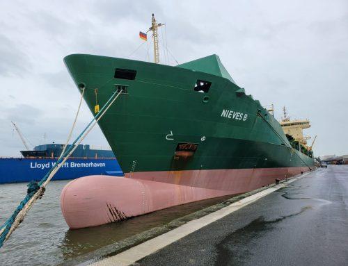 Boluda Shipping adquiere un buque, bautizado NIEVES B en honor a la patrona de la isla y en su compromiso con La Palma